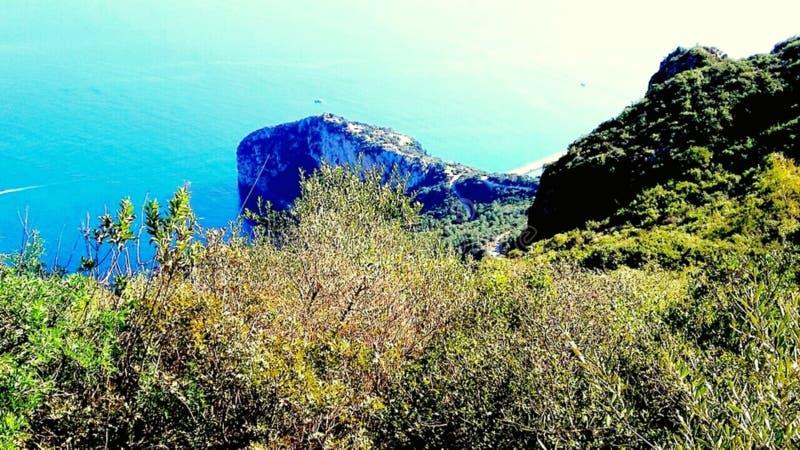 Συμβολή του εδάφους και της θάλασσας στοκ εικόνες με δικαίωμα ελεύθερης χρήσης