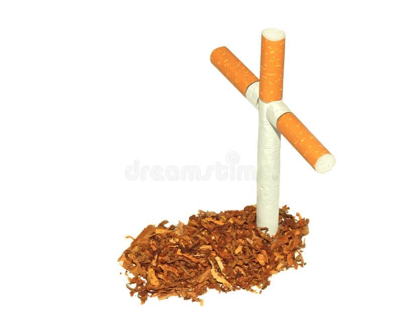 Συμβολικός τάφος του καπνού στοκ εικόνα