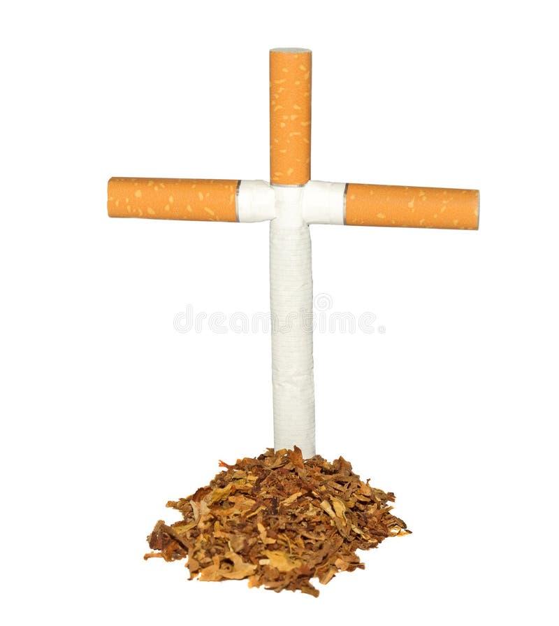 Συμβολικός τάφος του καπνού στοκ εικόνες
