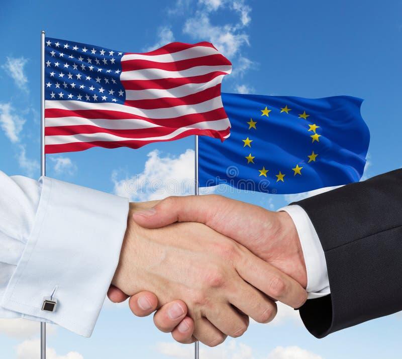 Συμμαχία ένωσης στοκ εικόνα