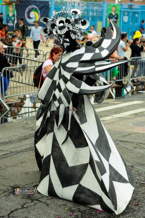 Συμμετέχοντες Μάρτιος στη 35η ετήσια παρέλαση γοργόνων στο Coney Island στοκ φωτογραφίες με δικαίωμα ελεύθερης χρήσης