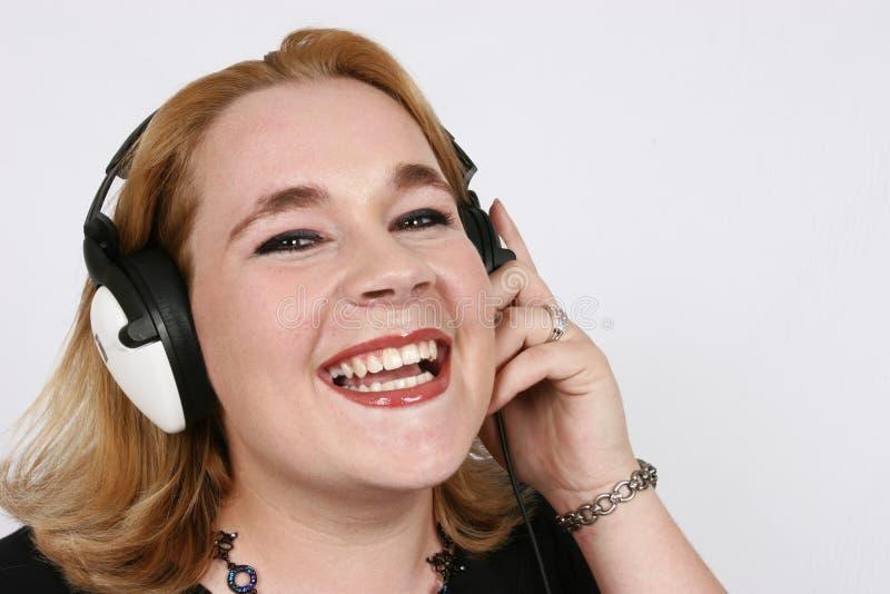 συμπάθεια επιχειρηματιών η μουσική ακούσματός της στοκ φωτογραφίες με δικαίωμα ελεύθερης χρήσης