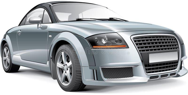 Συμπαγές σπορ αυτοκίνητο της Γερμανίας απεικόνιση αποθεμάτων