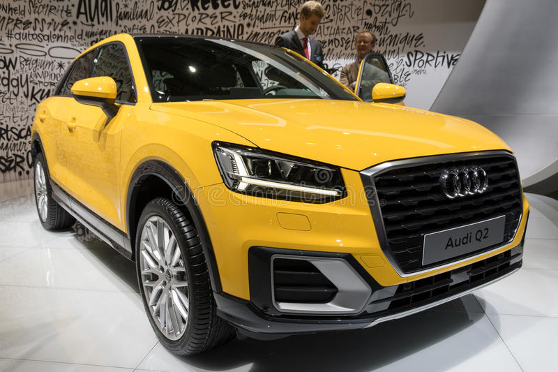 Συμπαγές SUV αυτοκίνητο Audi Q2 στοκ εικόνα με δικαίωμα ελεύθερης χρήσης
