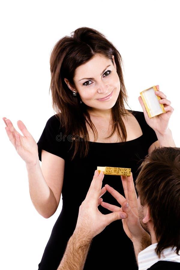 συμπαθητικό δαχτυλίδι τέτ στοκ εικόνα με δικαίωμα ελεύθερης χρήσης