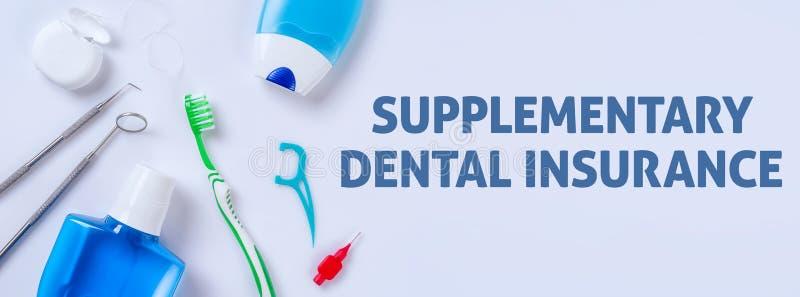 Συμπληρωματικός οδοντικός στοκ εικόνα με δικαίωμα ελεύθερης χρήσης