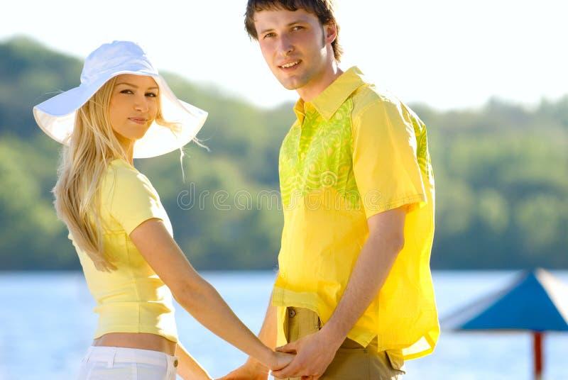 συμφωνία κίτρινη στοκ εικόνα