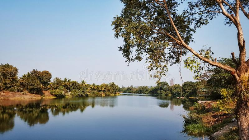 Συνάντησε τυχαία αυτήν την όμορφη θέα σε Wada στοκ εικόνες με δικαίωμα ελεύθερης χρήσης