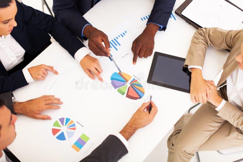 Συνάντηση επιχειρηματιών στοκ φωτογραφίες με δικαίωμα ελεύθερης χρήσης