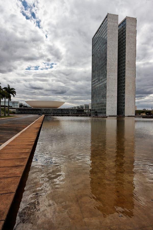 συνέδριο οικοδόμησης της Μπραζίλια στοκ φωτογραφία με δικαίωμα ελεύθερης χρήσης