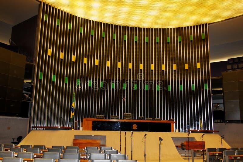 συνέδριο οικοδόμησης της Μπραζίλια στοκ εικόνες με δικαίωμα ελεύθερης χρήσης
