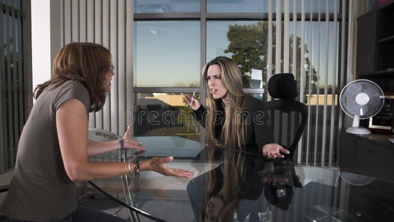 συνέντευξη στοκ φωτογραφίες