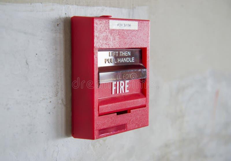 Συναγερμός πυρκαγιάς στοκ εικόνα