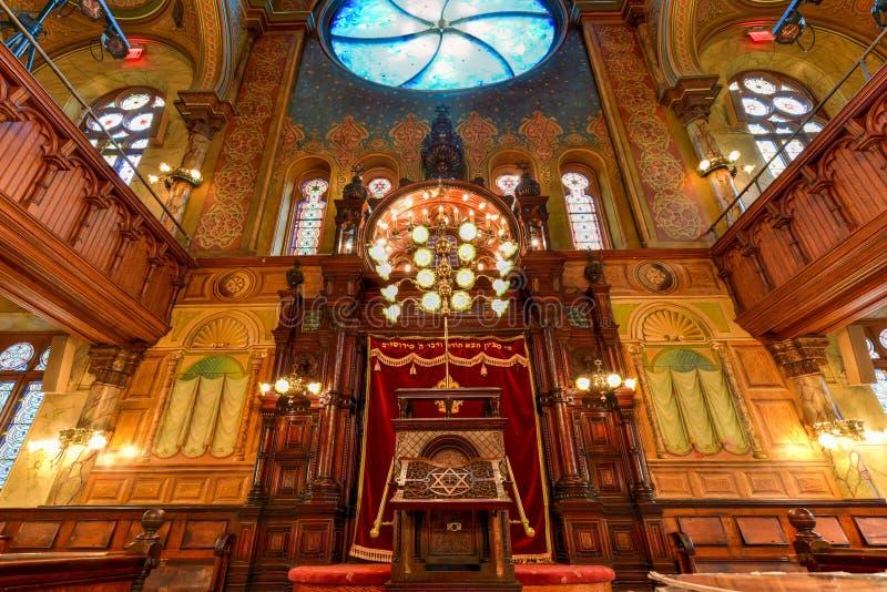 Συναγωγή οδών Eldridge - πόλη της Νέας Υόρκης στοκ εικόνες
