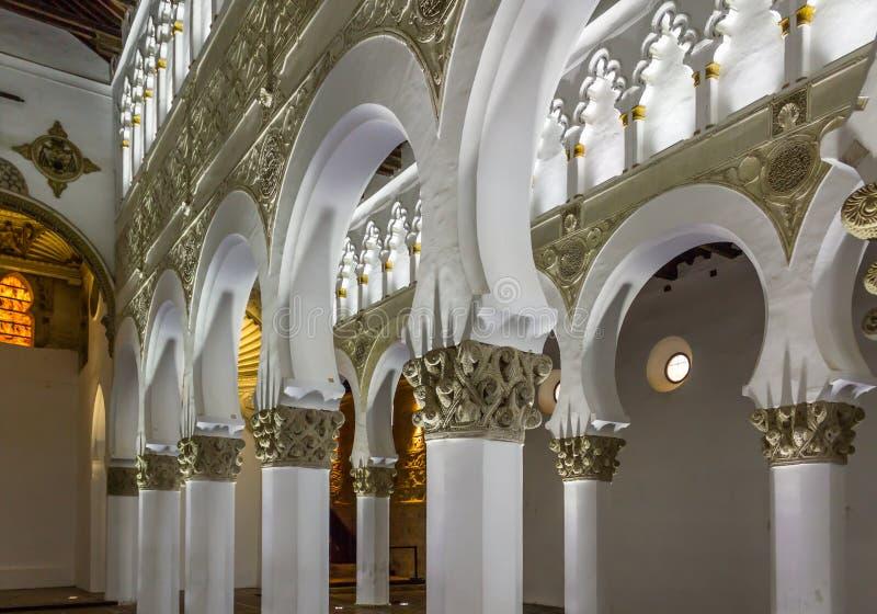 Συναγωγή Τολέδο στοκ φωτογραφία