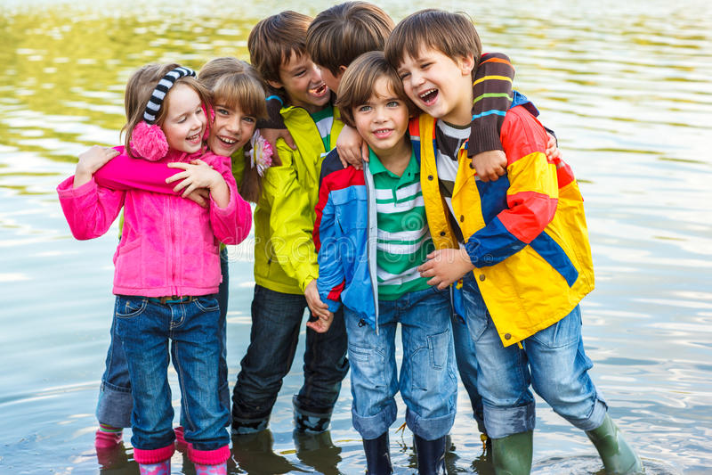 Συναισθηματικά παιδιά στοκ εικόνες