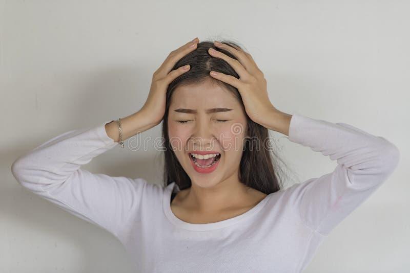 Συναισθηματική πίεση στοκ εικόνες με δικαίωμα ελεύθερης χρήσης