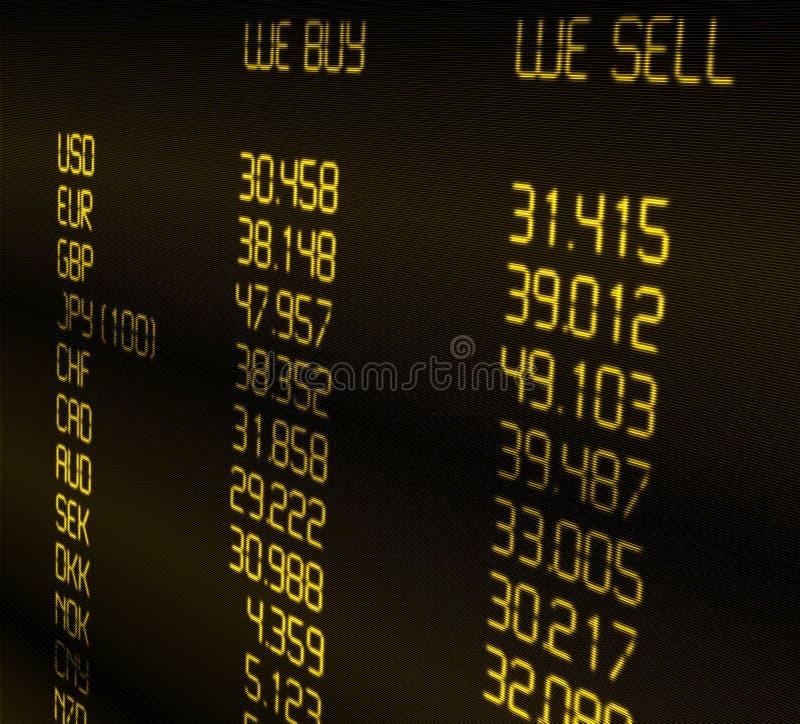 συναλλαγματική ισοτιμία νομίσματος ελεύθερη απεικόνιση δικαιώματος