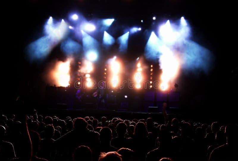 συναυλία ακροατηρίων στοκ φωτογραφίες με δικαίωμα ελεύθερης χρήσης