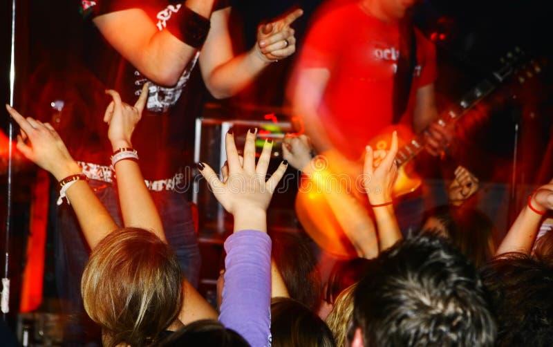 συναυλία ζωντανή στοκ φωτογραφία με δικαίωμα ελεύθερης χρήσης