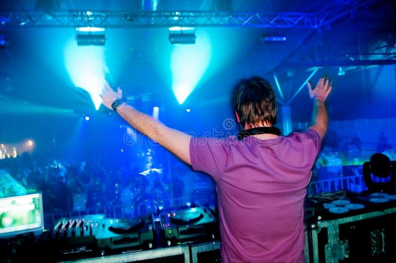 συναυλία DJ στοκ εικόνες με δικαίωμα ελεύθερης χρήσης