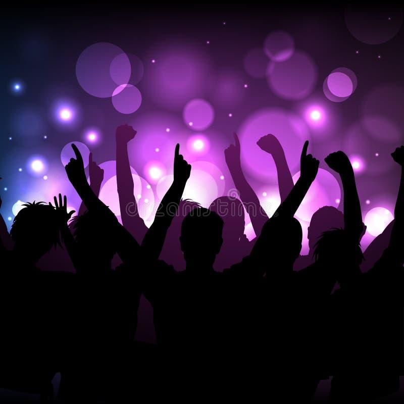 Συναυλία ή υπόβαθρο λεσχών ελεύθερη απεικόνιση δικαιώματος