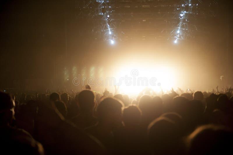 Συναυλία πλήθους στοκ φωτογραφία με δικαίωμα ελεύθερης χρήσης