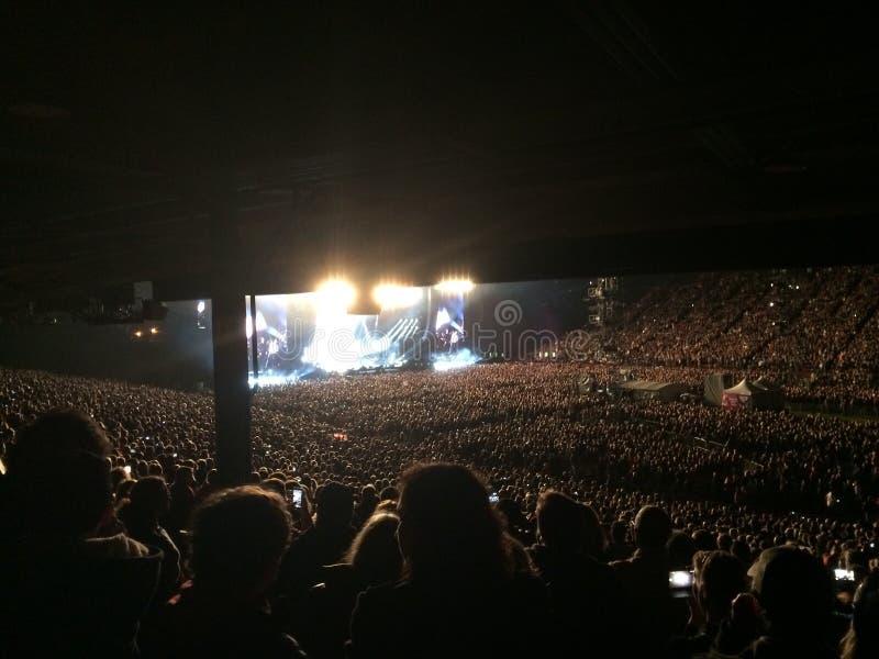 Συναυλία του Paul McCartney στοκ φωτογραφία