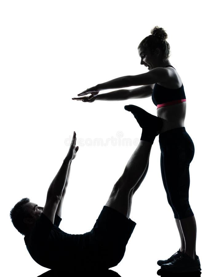 συνδέστε την άσκηση του άν&de στοκ φωτογραφία με δικαίωμα ελεύθερης χρήσης