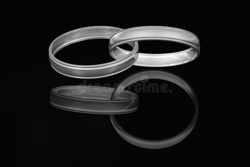 συνδεμένος ζώνες γάμος ελεύθερη απεικόνιση δικαιώματος