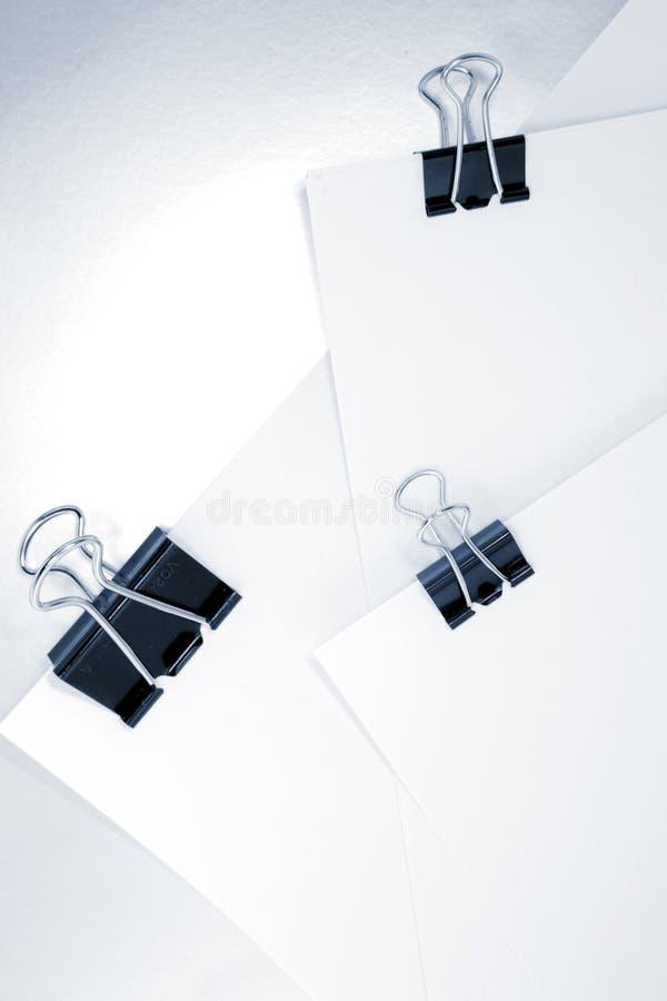 Συνδετήρες συνδέσμων στη γραφική εργασία στοκ φωτογραφία με δικαίωμα ελεύθερης χρήσης