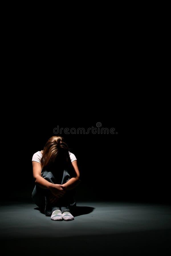 συνεδρίαση κατάθλιψης στοκ φωτογραφία με δικαίωμα ελεύθερης χρήσης