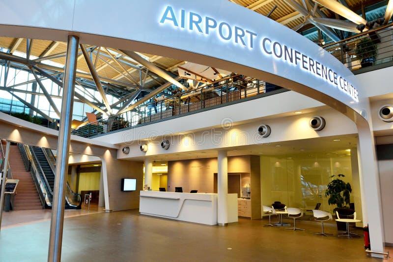 Συνεδριακό κέντρο αερολιμένων του Αμβούργο στοκ εικόνες