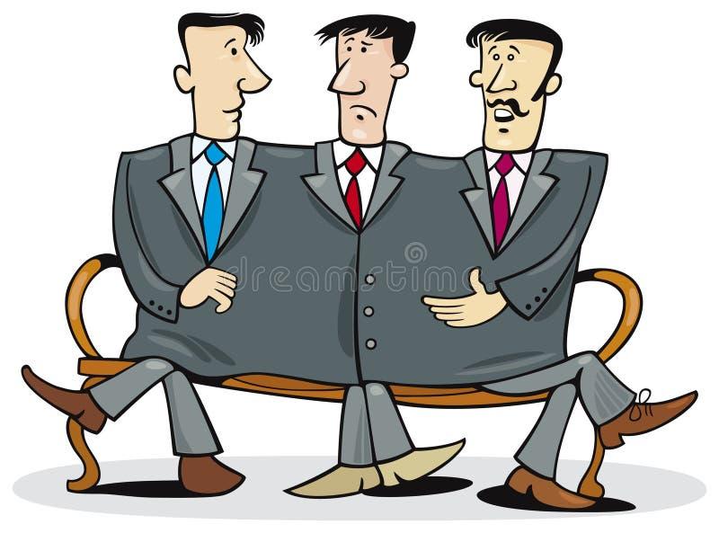 συνεργάτες επιχείρησης διανυσματική απεικόνιση