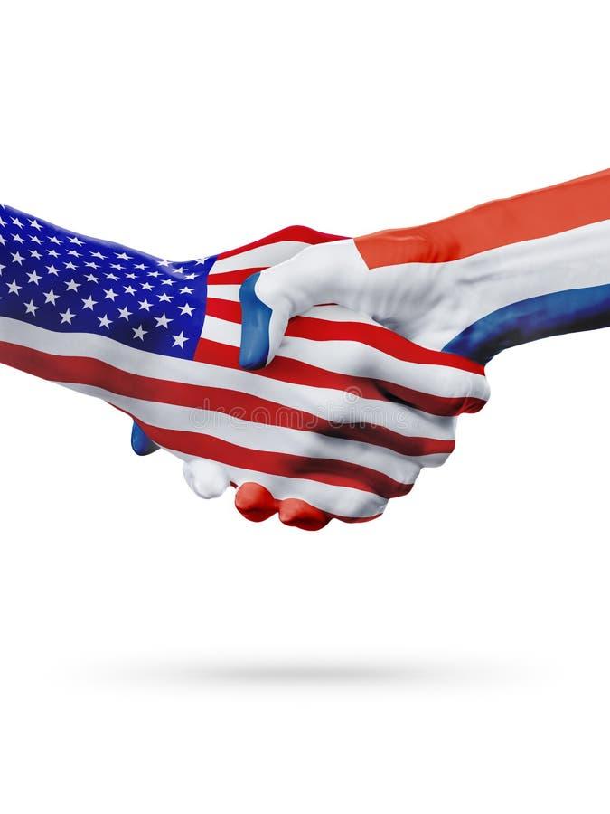 Συνεργασία έννοιας Ηνωμένων, Δομινικανή Δημοκρατία σημαιών, επιχείρηση, αθλητικός ανταγωνισμός ελεύθερη απεικόνιση δικαιώματος