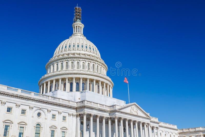 συνεχές ρεύμα capitol εμείς Ουάσιγκτον στοκ εικόνες