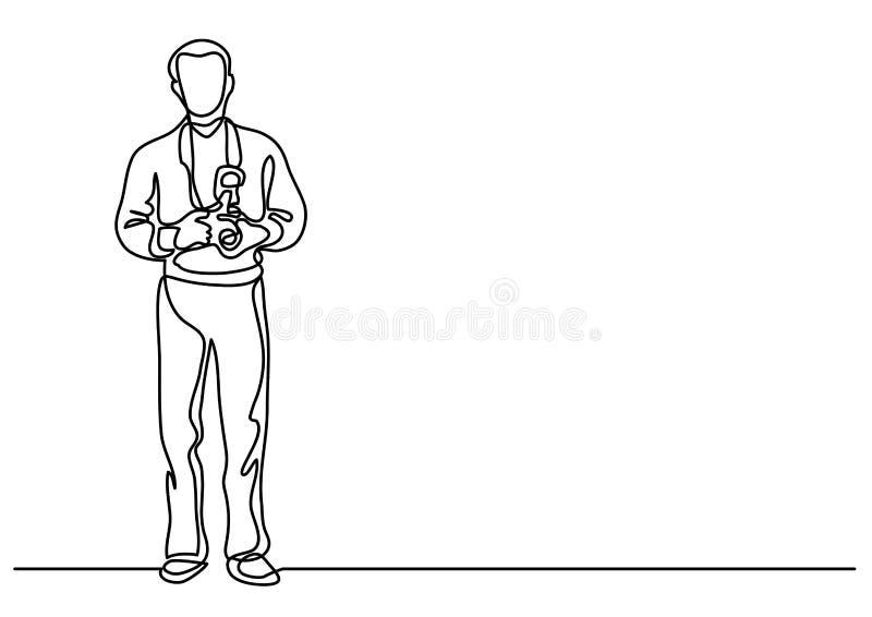 Συνεχές σχέδιο γραμμών του μόνιμου φωτογράφου με τη κάμερα διανυσματική απεικόνιση