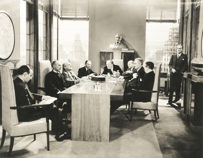 Συνεδρίαση Συμβουλίου στοκ φωτογραφίες με δικαίωμα ελεύθερης χρήσης