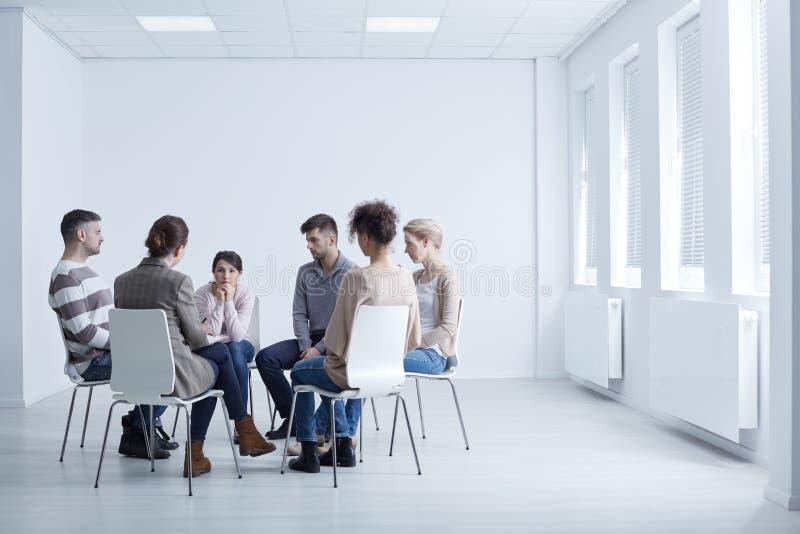 Συνεδρίαση της ομάδας AA στοκ φωτογραφίες με δικαίωμα ελεύθερης χρήσης
