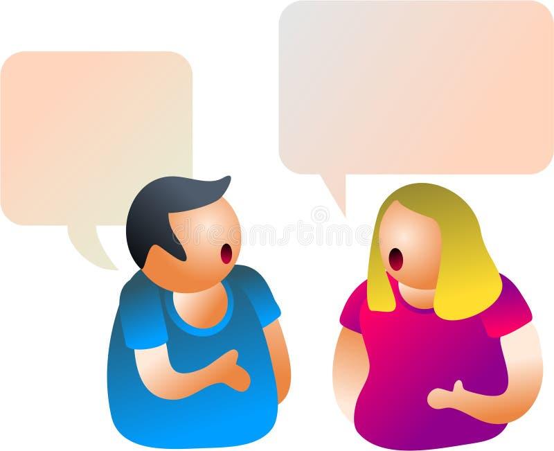 Download συνομιλία απεικόνιση αποθεμάτων. εικονογραφία από αντίπαλος - 380203
