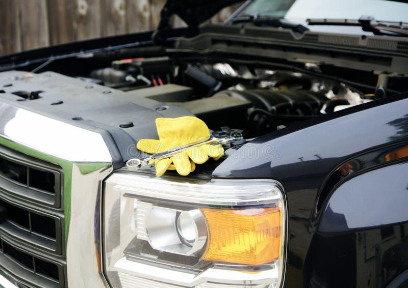 Συντήρηση και επισκευή οχημάτων στοκ φωτογραφία με δικαίωμα ελεύθερης χρήσης