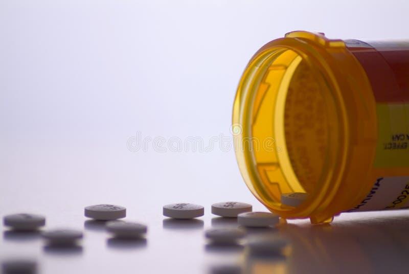 συνταγή φαρμάκων μπουκαλ στοκ φωτογραφία με δικαίωμα ελεύθερης χρήσης