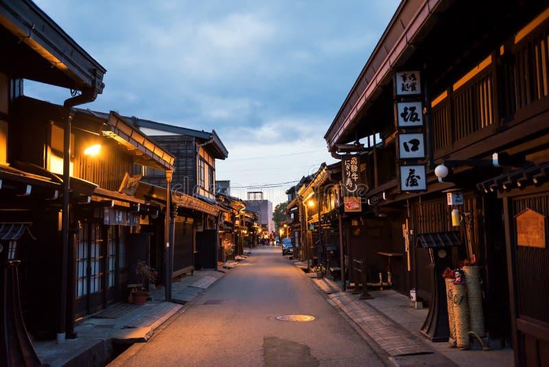 συντηρημένα παραδοσιακά ξύλινα σπίτια, Takayama στοκ φωτογραφία με δικαίωμα ελεύθερης χρήσης