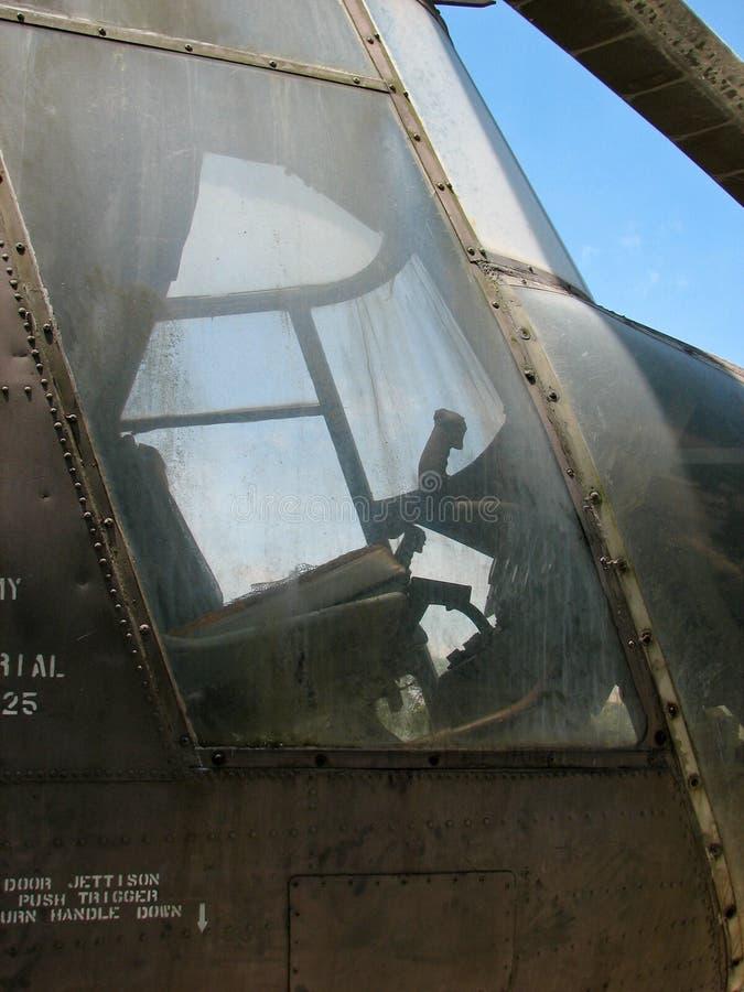 Συντρίμμια ενός u.s ελικοπτέρου στρατού στοκ φωτογραφία με δικαίωμα ελεύθερης χρήσης