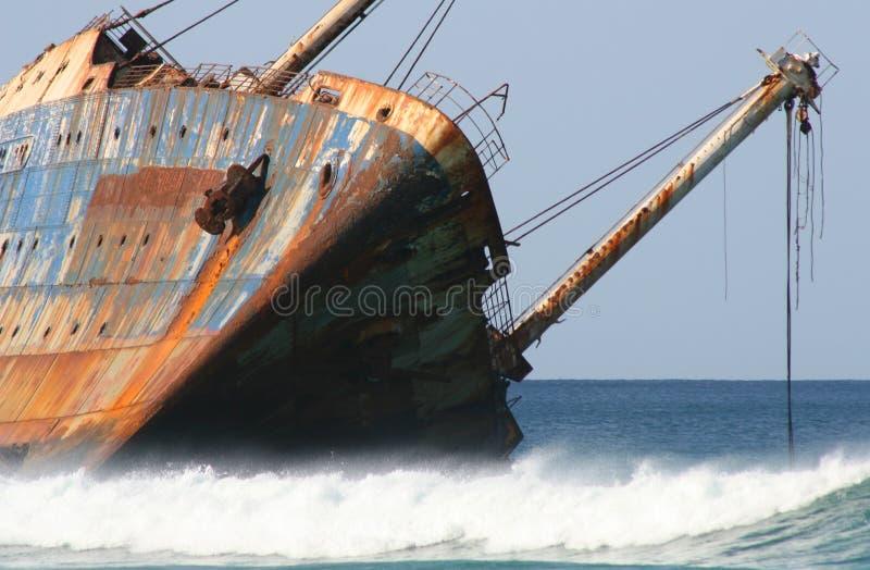 συντρίμμια σκαφών στοκ εικόνες