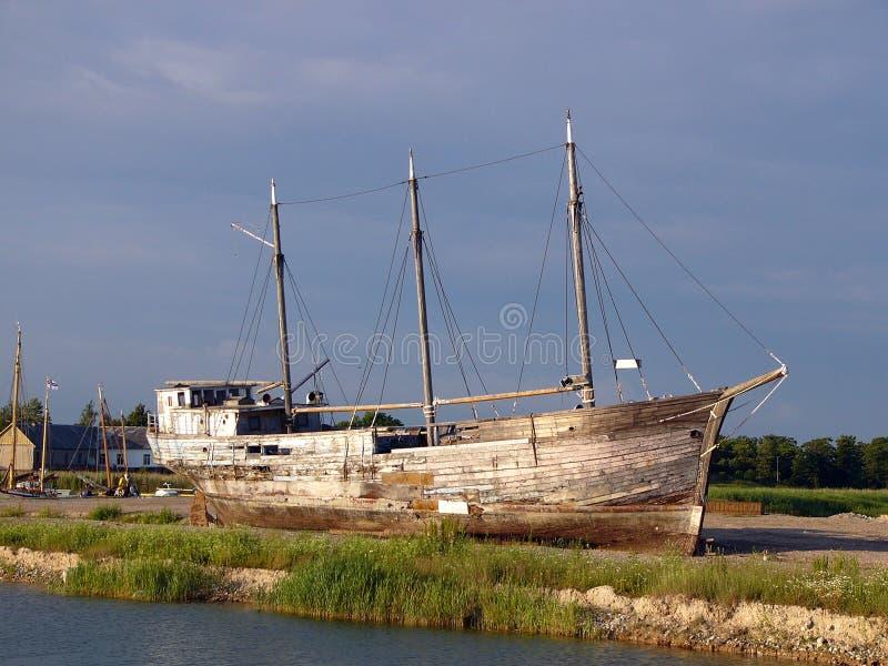 συντρίμμια σκαφών στοκ εικόνα με δικαίωμα ελεύθερης χρήσης
