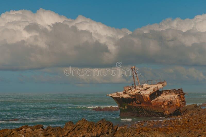 συντρίμμια σκαφών agulhas στοκ φωτογραφίες