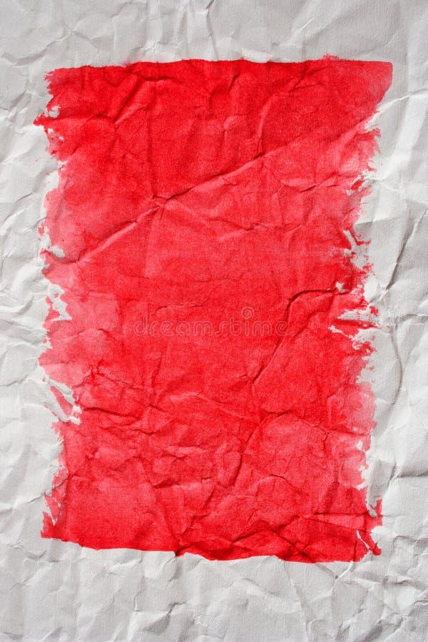 συντριμμένο χρωματισμένο έγγραφο στοκ εικόνες με δικαίωμα ελεύθερης χρήσης