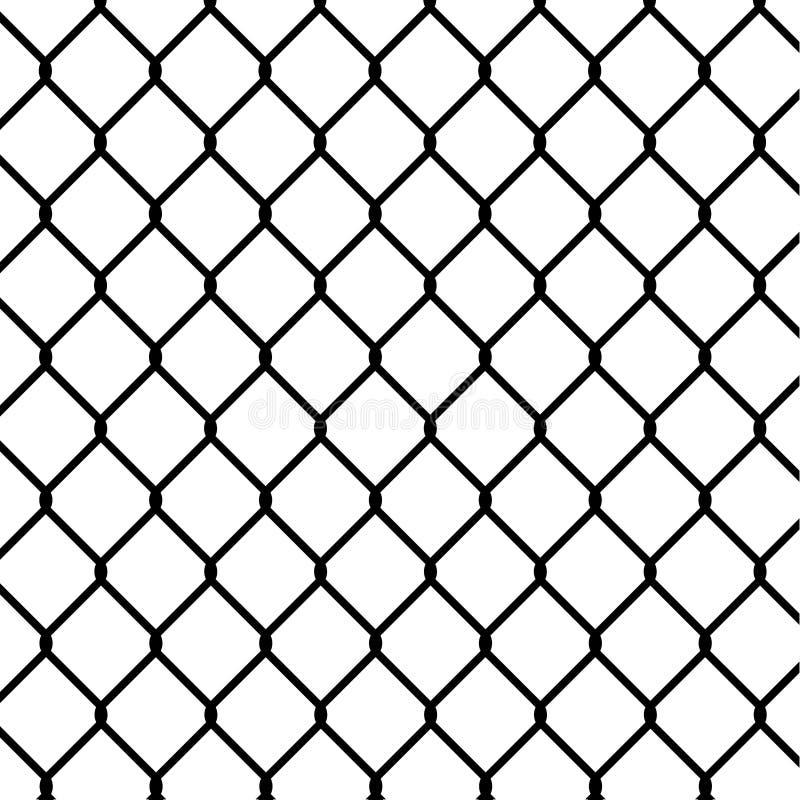 Συνδεμένος με καλώδιο τομέας frence ελεύθερη απεικόνιση δικαιώματος