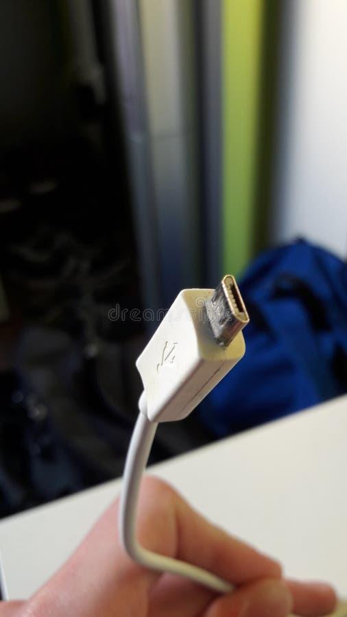 Συνδετήρας μικροϋπολογιστών USB στοκ φωτογραφία